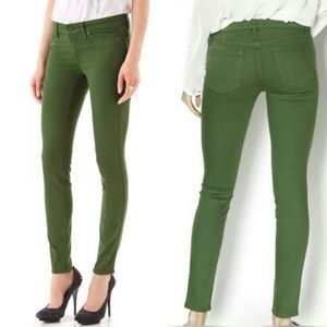 Rich & Skinny green skinny jeans, size 27